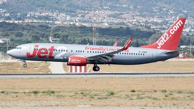 A picture of GJZHB - Boeing 7378K5 - Jet2 - © Fernando Roca