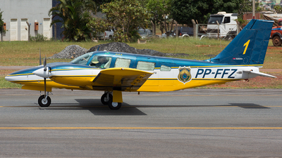 PP-FFZ - Embraer EMB-810D Seneca III - Brazil - Highways Federal Police