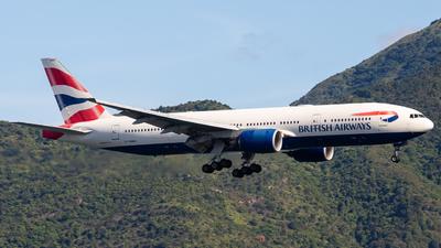 G-YMMU - Boeing 777-236(ER) - British Airways