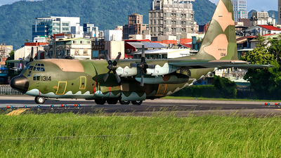 1314 - Lockheed C-130H Hercules - Taiwan - Air Force