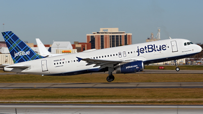 N566JB - Airbus A320-232 - jetBlue Airways