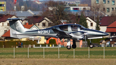N23HJ - Diamond Aircraft DA-62 - Private