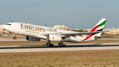 A6-EKS - Airbus A330-243 - Emirates