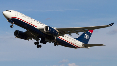 N286AY - Airbus A330-243 - US Airways