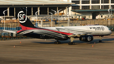 A picture of B2829 - Boeing 75725C(PCF) - SF Airlines - © Edward Fan