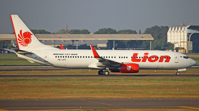 PK-LPV - Boeing 737-8GP - Lion Air