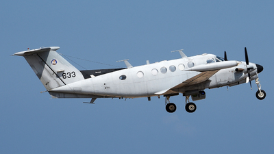 633 - Beechcraft B200T Zufit 2 - Israel - Air Force