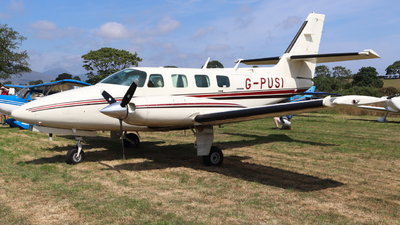 G-PUSI - Cessna T303 Crusader - Private