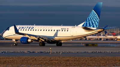 A picture of N605UX - Embraer E175LL - United Airlines - © Kevin Cargo
