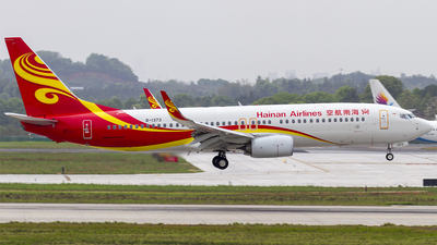 B-1373 - Boeing 737-84P - Hainan Airlines