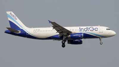 VT-IHY - Airbus A320-232 - IndiGo Airlines