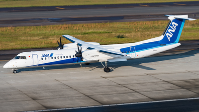 A picture of JA460A - De Havilland Canada Dash 8400 - All Nippon Airways - © Andrew Lesty