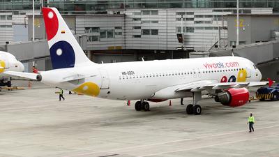 A picture of HK5221 - Airbus A320214 - Viva Air - © La Roche Spotters