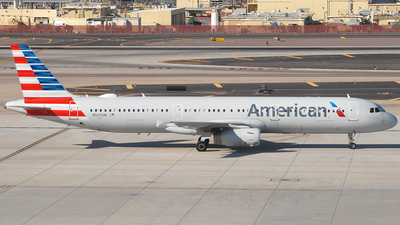 A picture of N557UW - Airbus A321231 - American Airlines - © Jason Whitebird