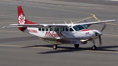 A picture of N859MA - Cessna 208B Grand Caravan - Mokulele Airlines - © Aviatiography