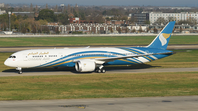 A picture of A4OSF - Boeing 7879 Dreamliner - Oman Air - © MilanWitham