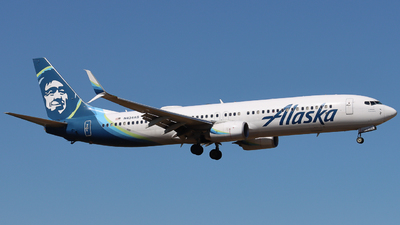 A picture of N434AS - Boeing 737990(ER) - Alaska Airlines - © Ethan Peters