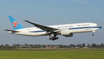 A picture of B2026 - Boeing 777F1B - China Southern Airlines - © Jan Seler