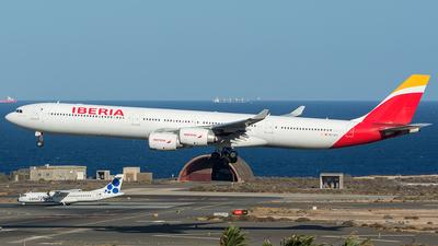 A picture of ECJCY - Airbus A340642 - [0617] - © Adolfo Bento de Urquía
