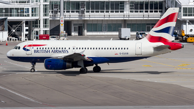 G-EUOB - Airbus A319-131 - British Airways