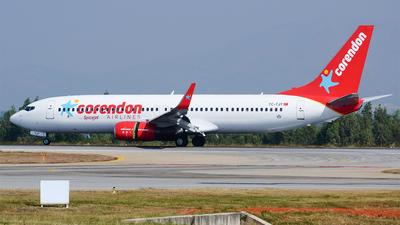 TC-TJT - Boeing 737-8HC - SpiceJet (Corendon Airlines)