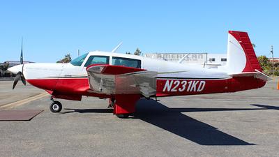 N231KD - Mooney M20K-231 - Private