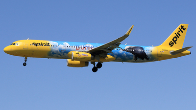 N662NK - Airbus A321-231 - Spirit Airlines