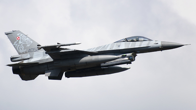 4052 - Lockheed Martin F-16CM Fighting Falcon - Poland - Air Force