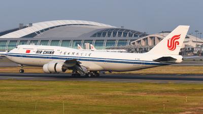 B-2481 - Boeing 747-89L - Air China