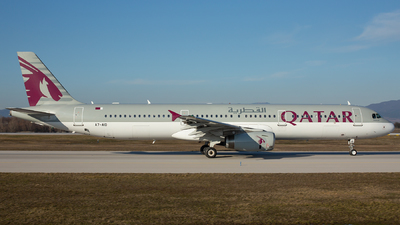 A7-AID - Airbus A321-231 - Qatar Airways