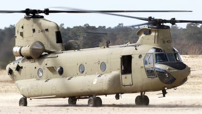 D-472 - Boeing CH-47F Chinook - Netherlands - Royal Air Force