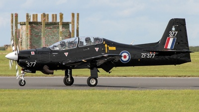 ZF377 - Short Tucano T.1 - United Kingdom - Royal Air Force (RAF)