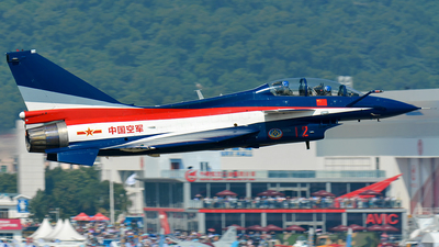 12 - Chengdu J10AY - China - Air Force