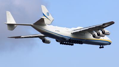 A picture of UR82060 - Antonov An225 Mriya - Antonov Design Bureau - © Sander in West-Africa