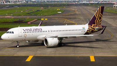 A picture of VTTNV - Airbus A320251N - Vistara - © Aneesh Bapaye