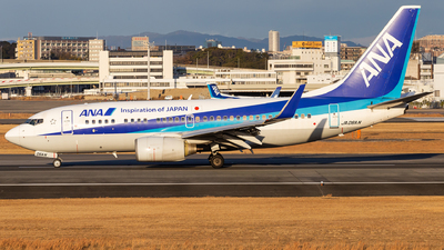 A picture of JA06AN - Boeing 737781 - All Nippon Airways - © LUSU