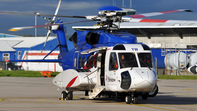 A picture of GCGYW - Sikorsky S92A Helibus - Bristow Helicopters - © EDDV_JJ