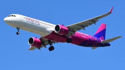 A6-WZB - Airbus A321-271NX - Wizz Air Abu Dhabi