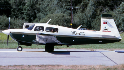 HB-DIG - Mooney M20J-201MSE - Private