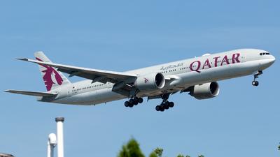 A7-BAI - Boeing 777-3DZER - Qatar Airways