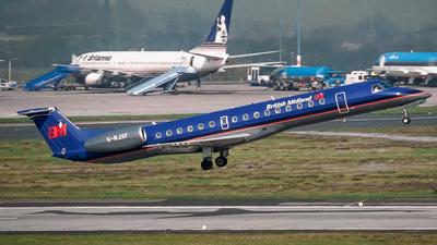 G-RJXF - Embraer ERJ-145EP - bmi British Midland International
