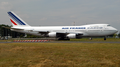 F-GCBH - Boeing 747-228B(SF) - Air France Cargo