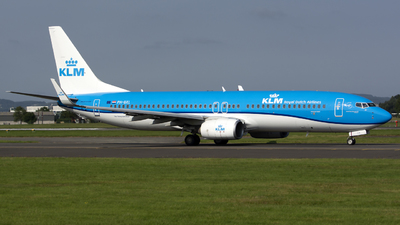 A picture of PHBXL - Boeing 7378K2 - KLM - © Darren Conn