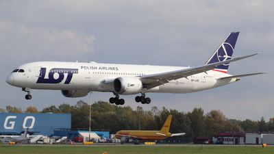 SP-LSD - Boeing 787-9 Dreamliner - LOT Polish Airlines