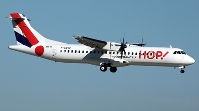 F-GVZP - ATR 72-212A(500) - HOP! for Air France