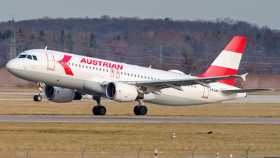 OE-LBO - Airbus A320-214 - Austrian Airlines