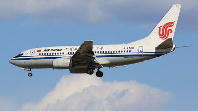 B-2700 - Boeing 737-79L - Air China