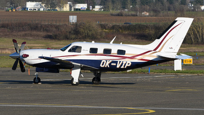 A picture of OKVIP - Piper PA46500TP Malibu Meridian - [4697273] - © bruno muthelet
