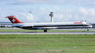 HB-INX - McDonnell Douglas MD-81 - Swissair