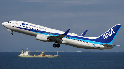 JA64AN - Boeing 737-881 - All Nippon Airways (ANA)